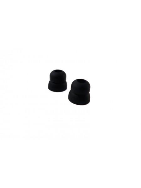 Двойная елочка - Бифланжевые силиконовые насадки для наушников